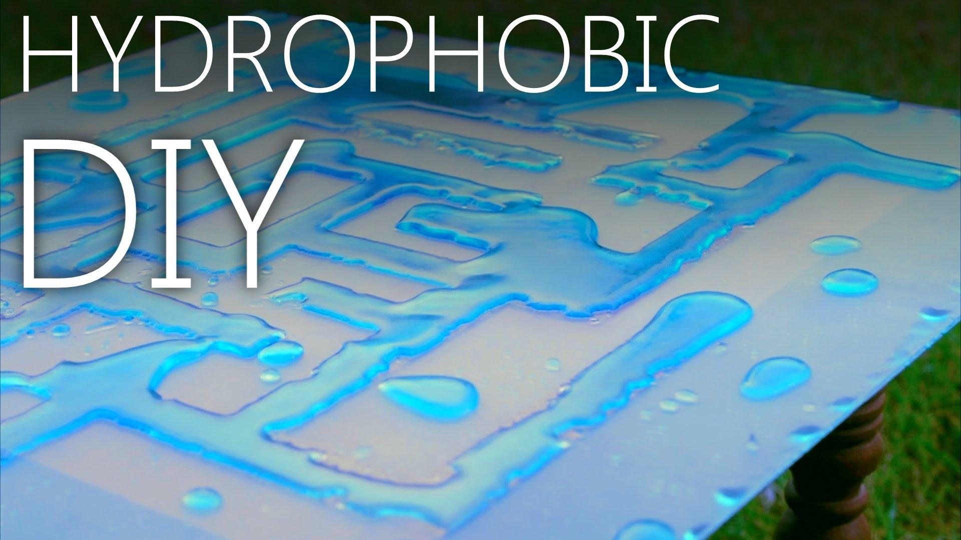 Homemade Hydrophobic Coating