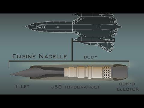 How the SR-71 Blackbird's Engines Work