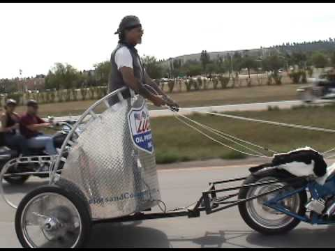 Motorcycle Chariot - Interesting Hack