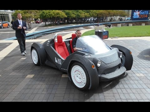 The First 3D Printed Car