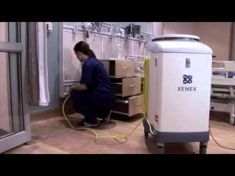 These Robots Disinfect Rooms With UV-C Light