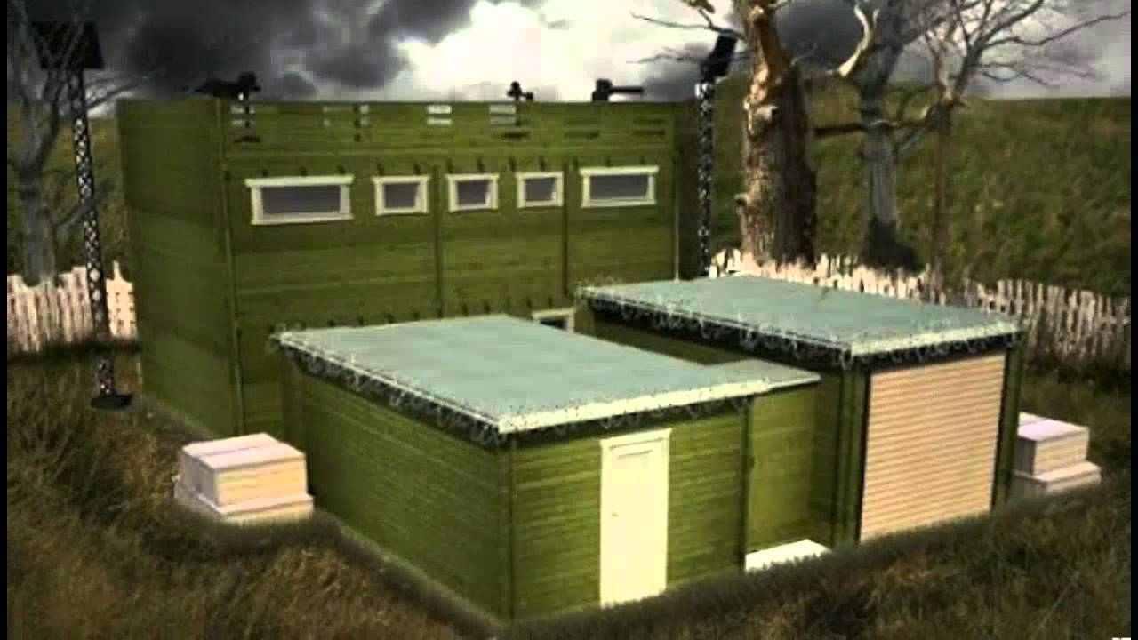 World's First Zombie Proof House