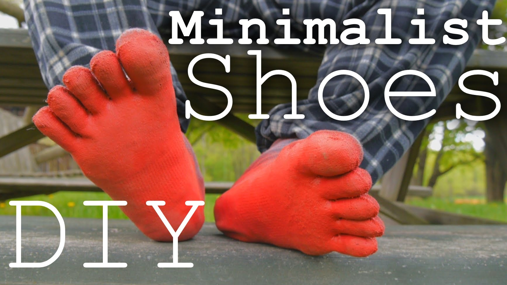 How to Make Your Own Vibram Five Finger Shoes