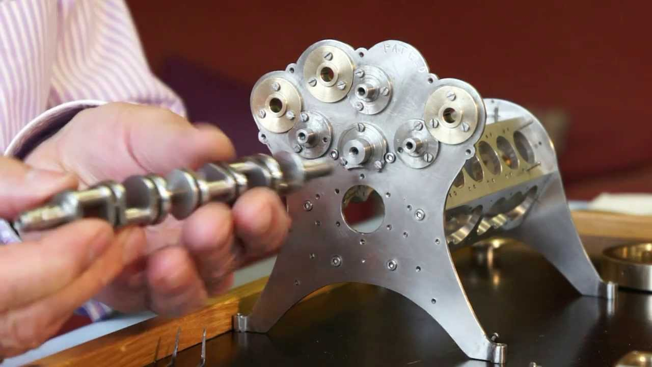 Man Builds Tiny W-18 Engine