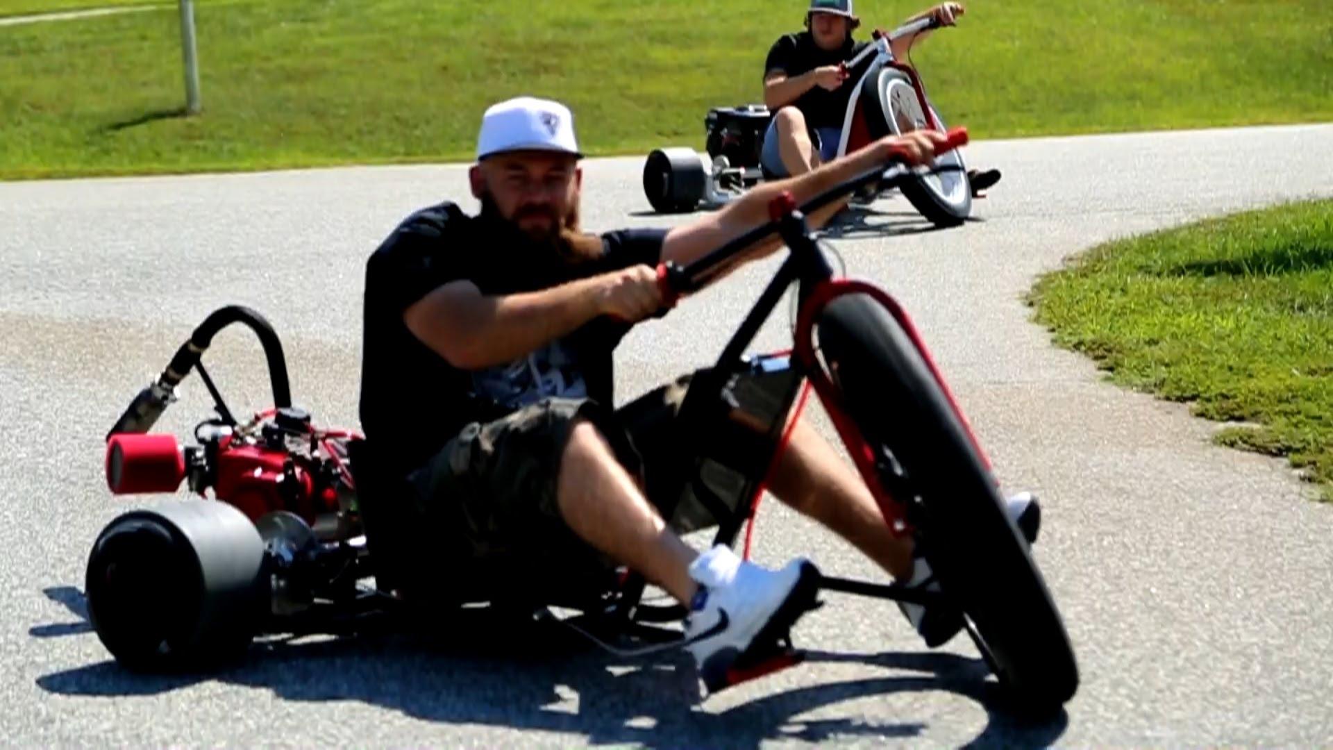 Motorized Drift Trike Is Made Big Boys
