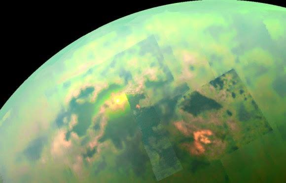 NASA Photographed Stunning View Of Sunlit Seas On Titan