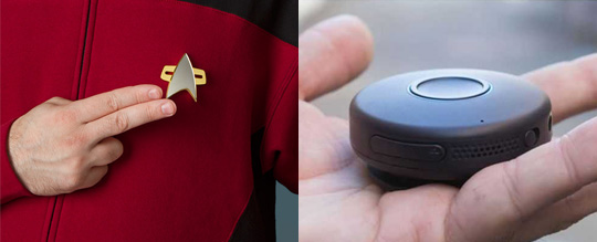 This Is The Closest Gadget We Have to the StarTrek Communicator