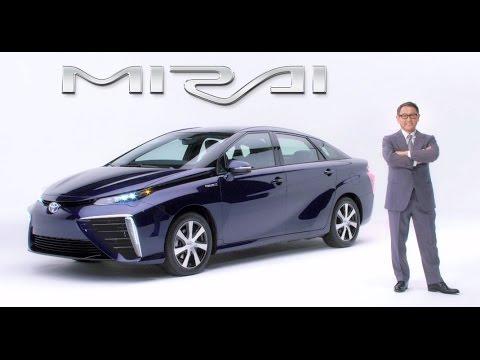 Toyota's hydrogen Car: Mirai