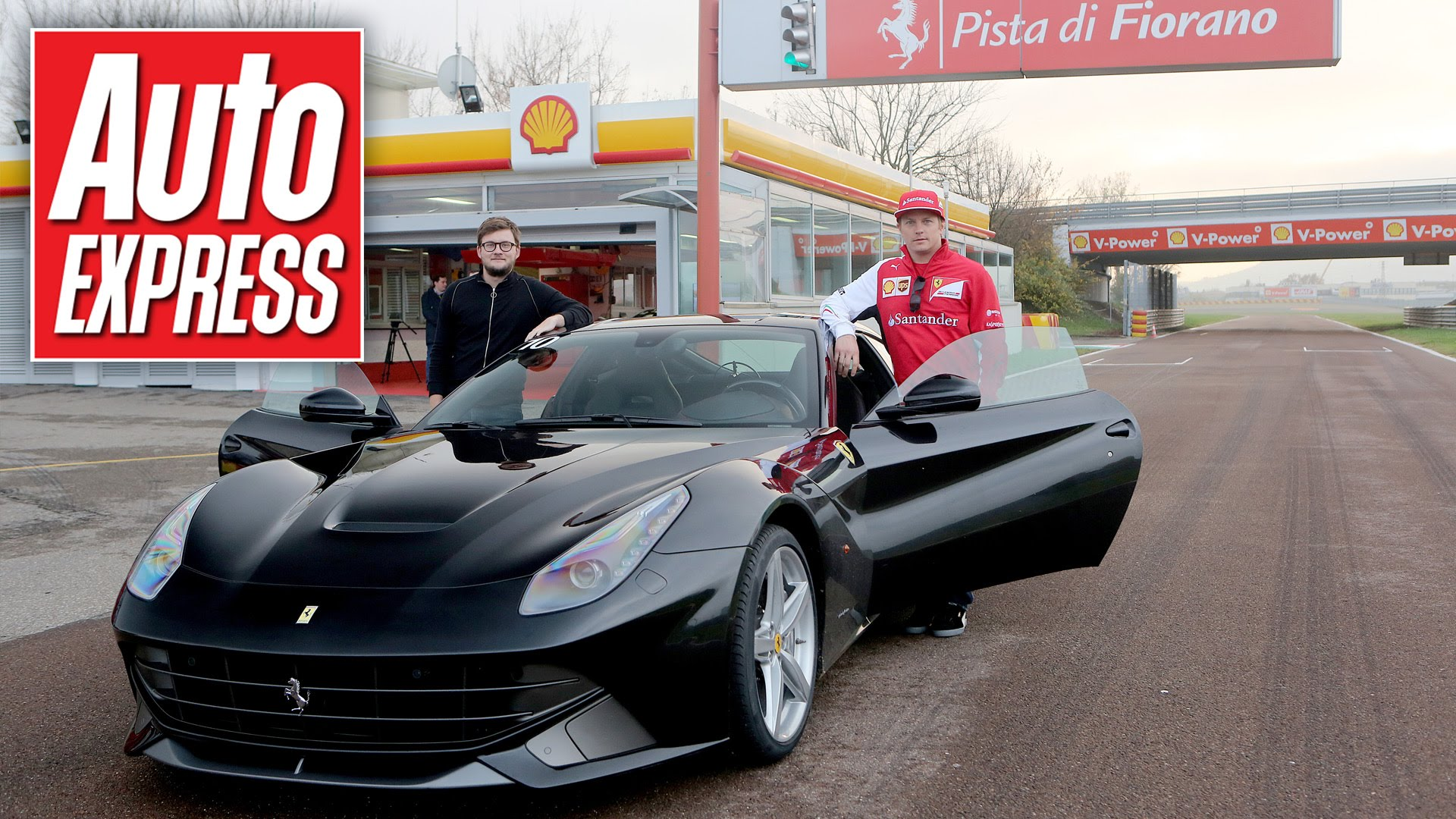 What's a Lap with Kimi Raikkonen in a Ferrari F12 Really Like?