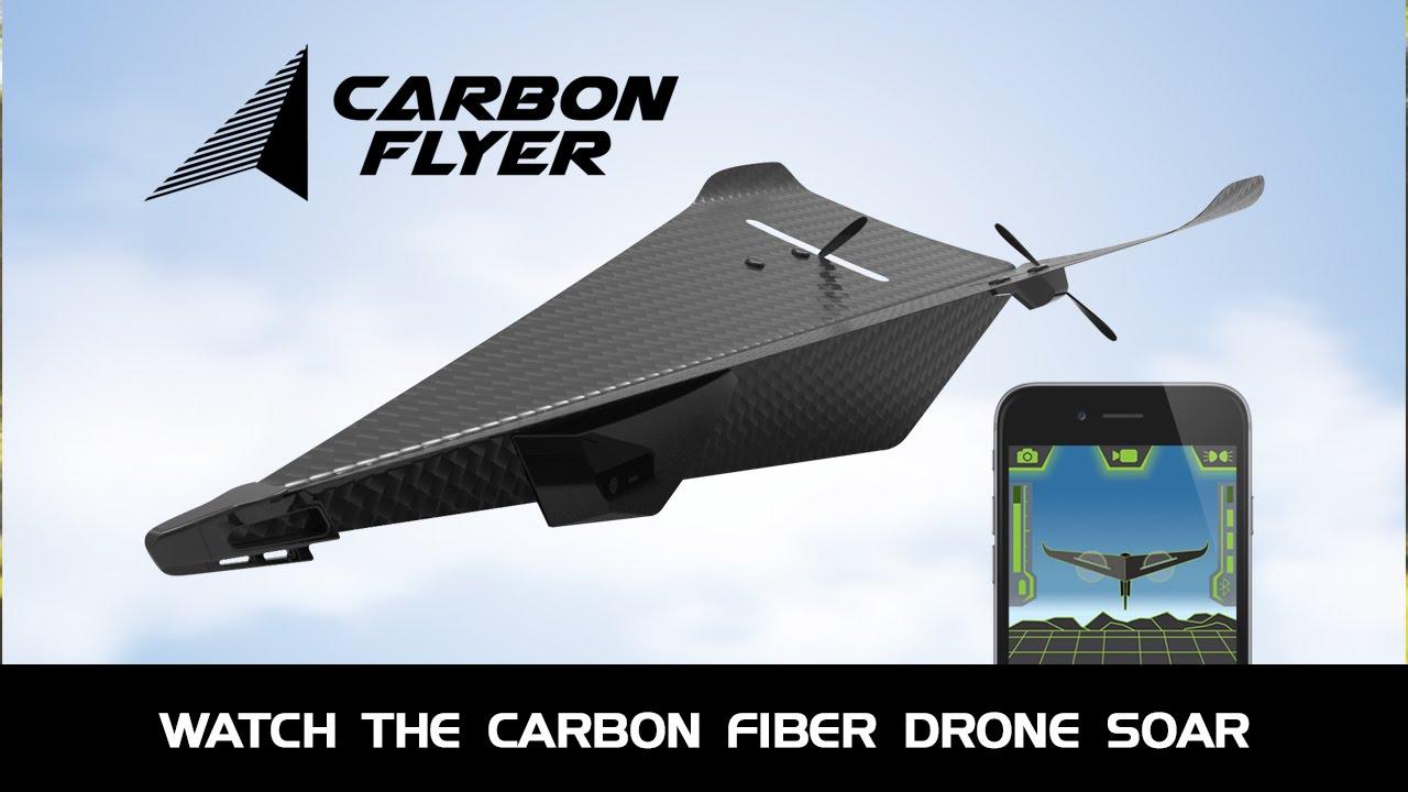 Carbon Fiber Drone is Crash-proof