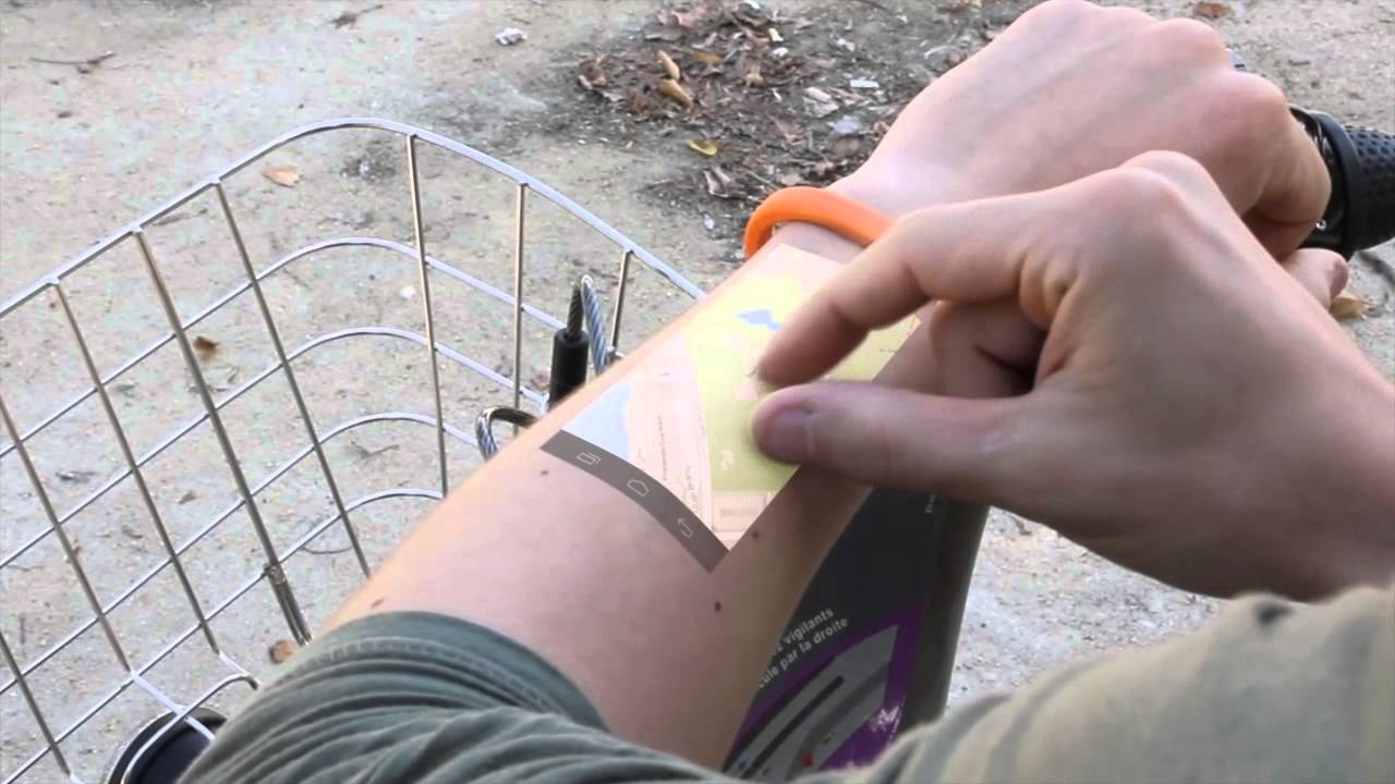 Wristband Turns Your Arm into a Touchscreen