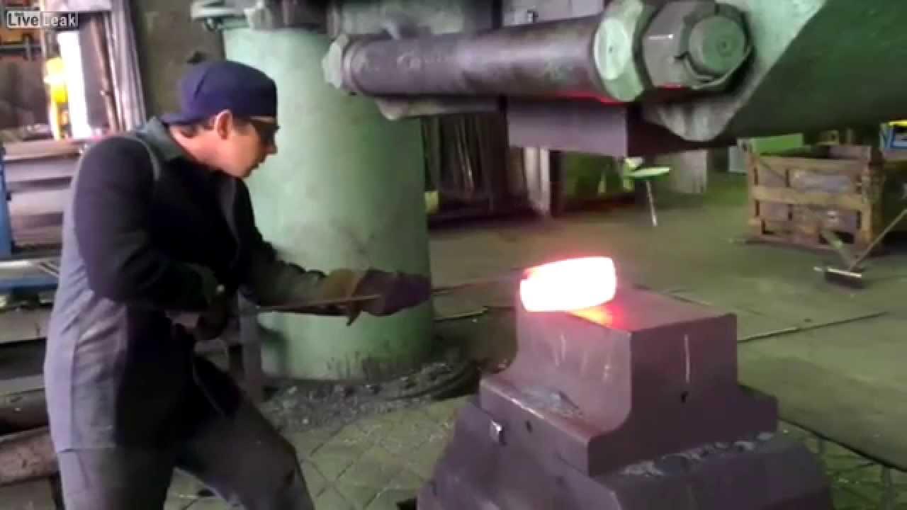 3 Ton Power Hammer - Would You Work Here?