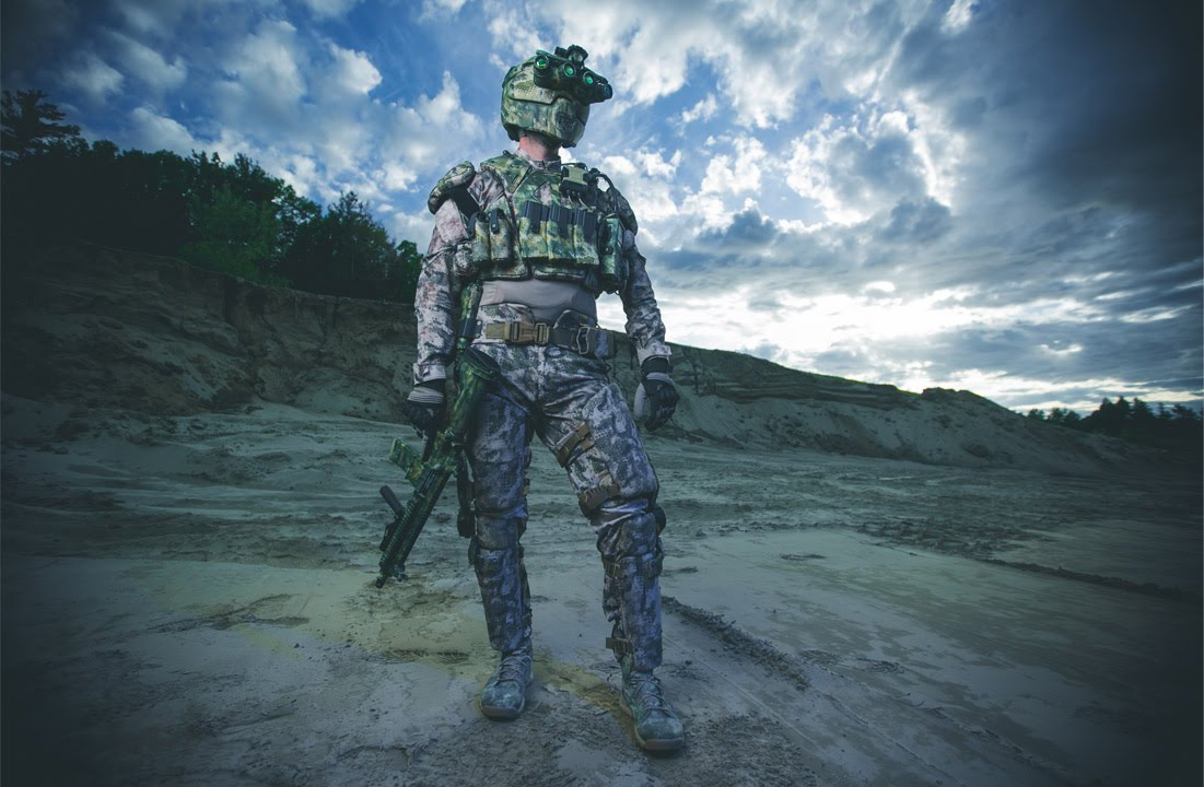 Prototype Equipment for DARPA's TALOS Super Soldier