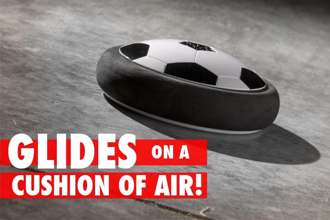 Hovercraft + Soccer=Air Power Soccer Disc