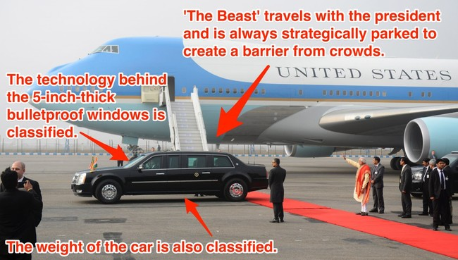 President Obama's Car Is So Insane, Even James Bond Would Be Jealous