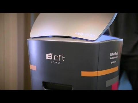This Hotel Has a Robot Butler