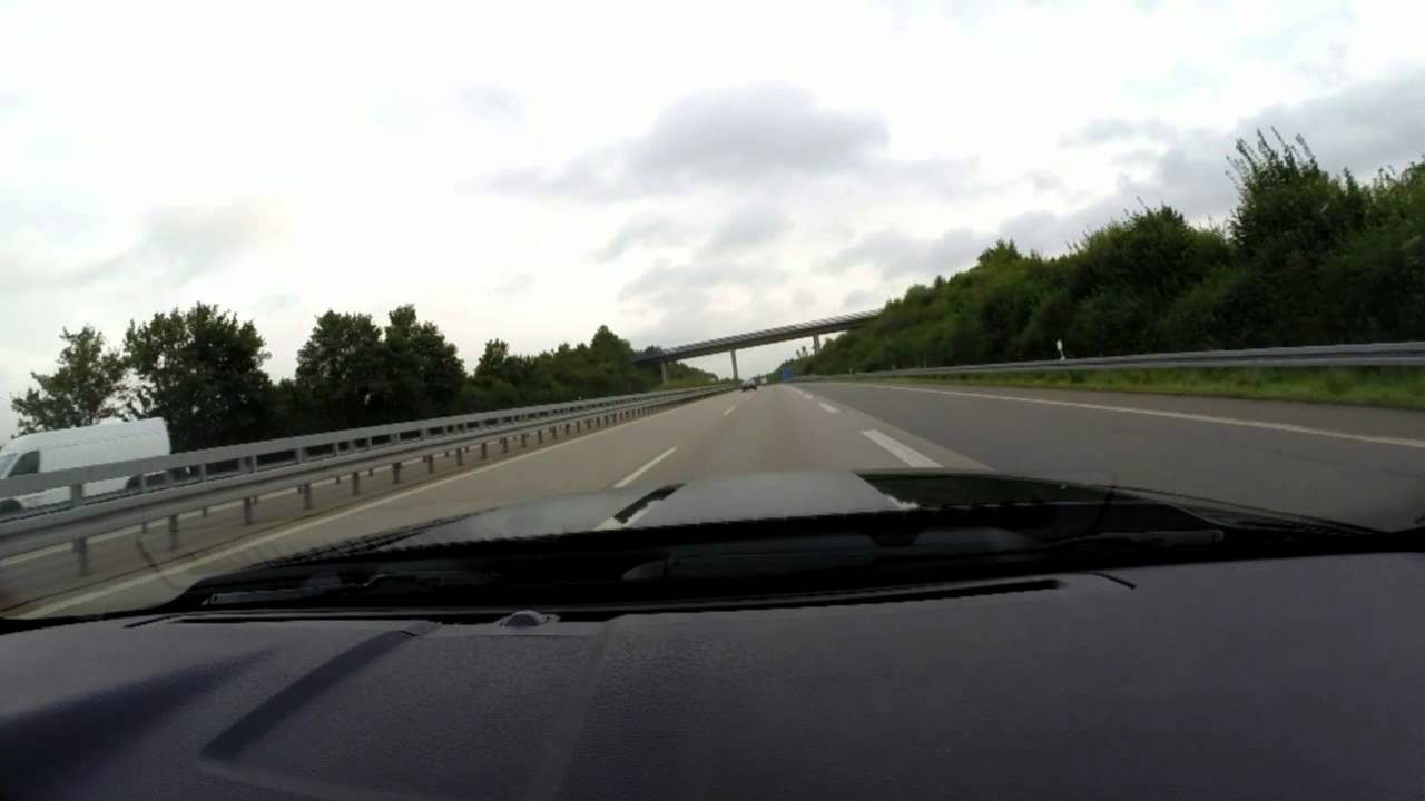 130 km/h on German Autobahn is Like Standing Still