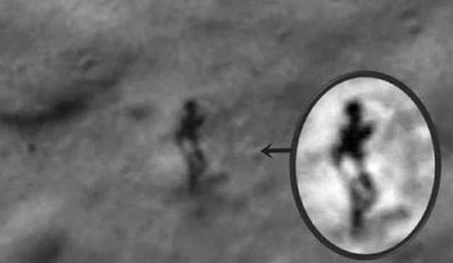 Did NASA Capture An Alien On The Moon?