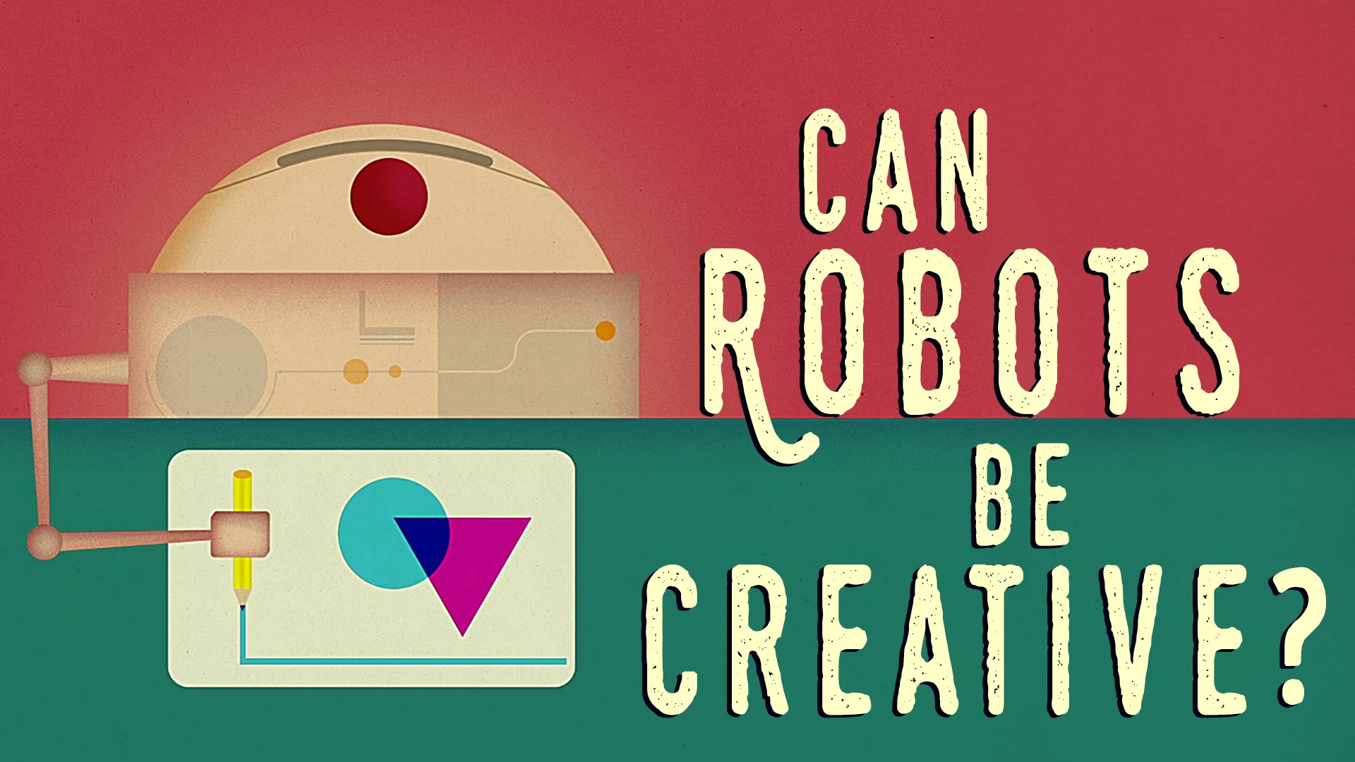 Can Robots Be Creative?