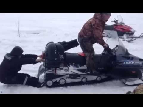 How Not to Use a Snowmobile