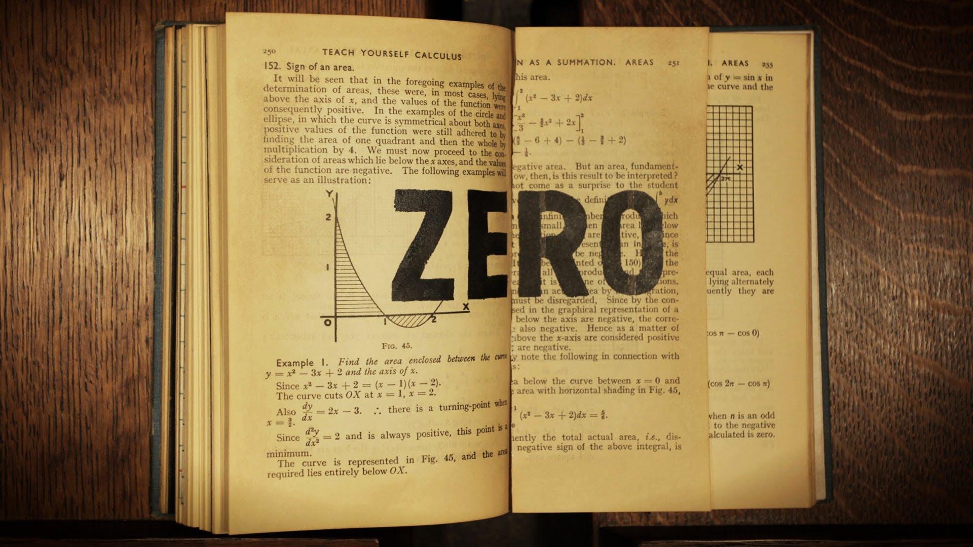 Mysteries of vernacular: Zero