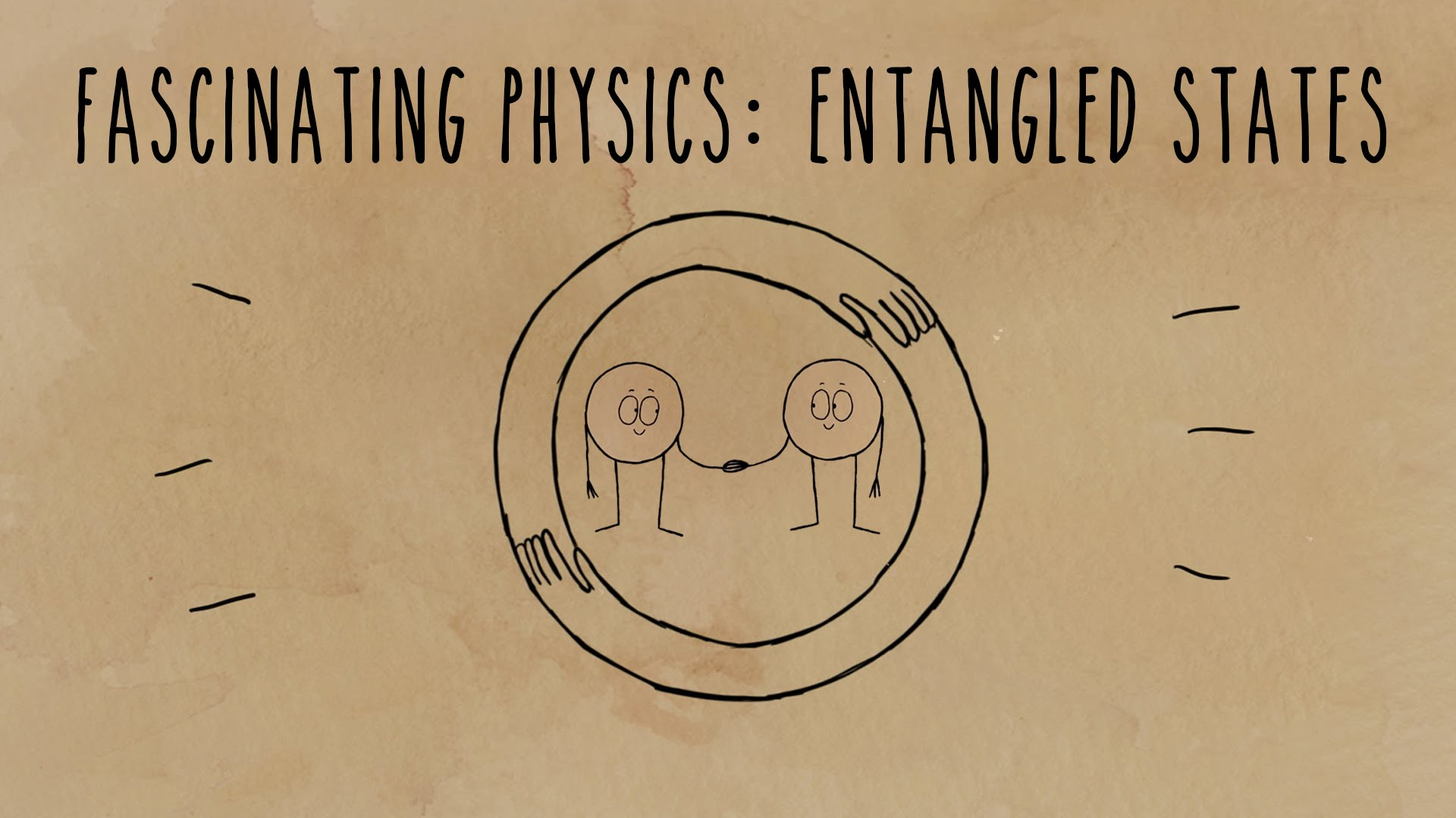Einstein's brilliant mistake: Entangled states