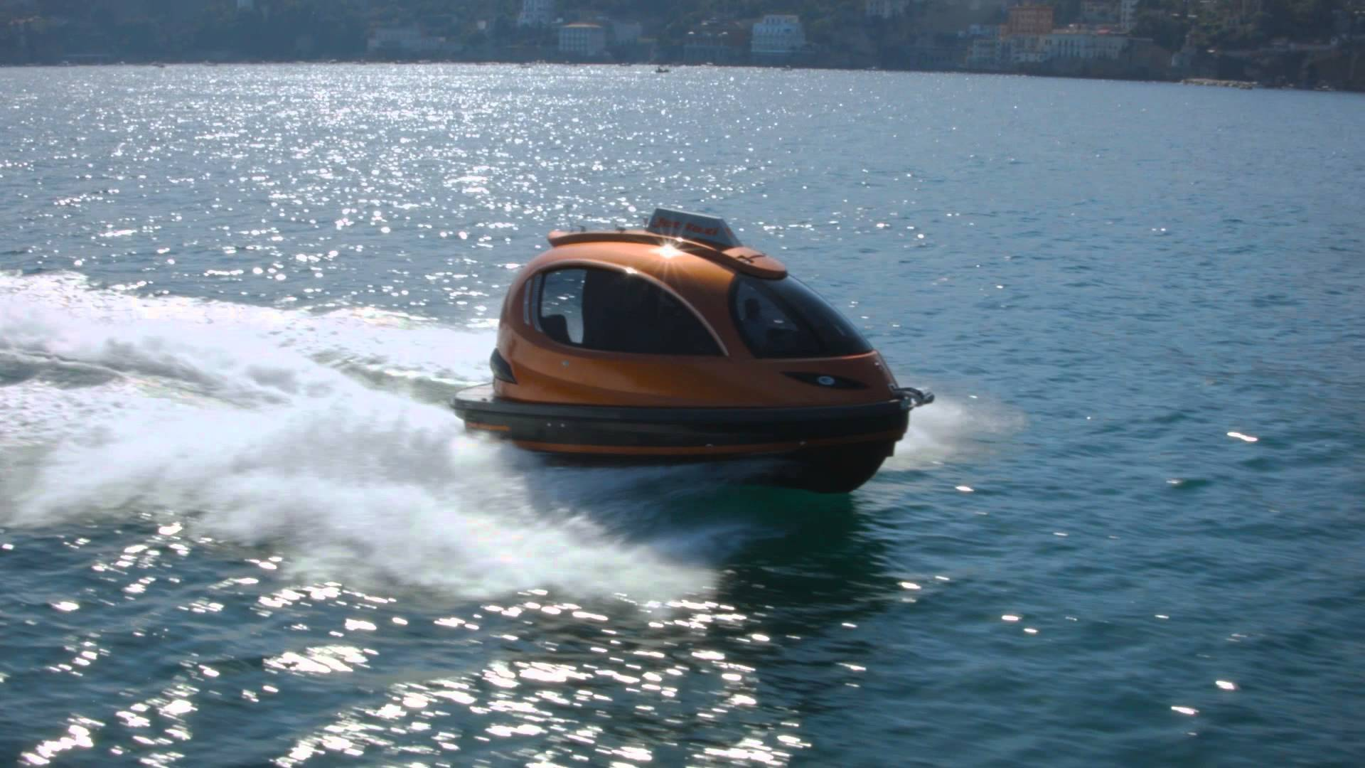 Mini Yacht + Jet Ski=Jet Taxi