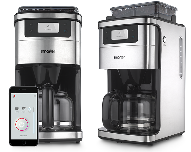 Brew Coffee from Bed with Smarter