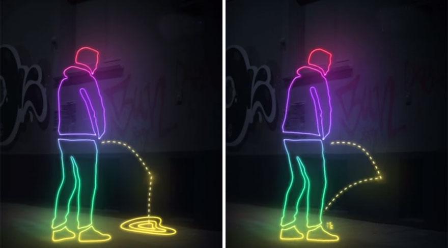 German Activists Coat Walls With a Superhydrophobic Substance to Splash Pee Back on Public Urinators