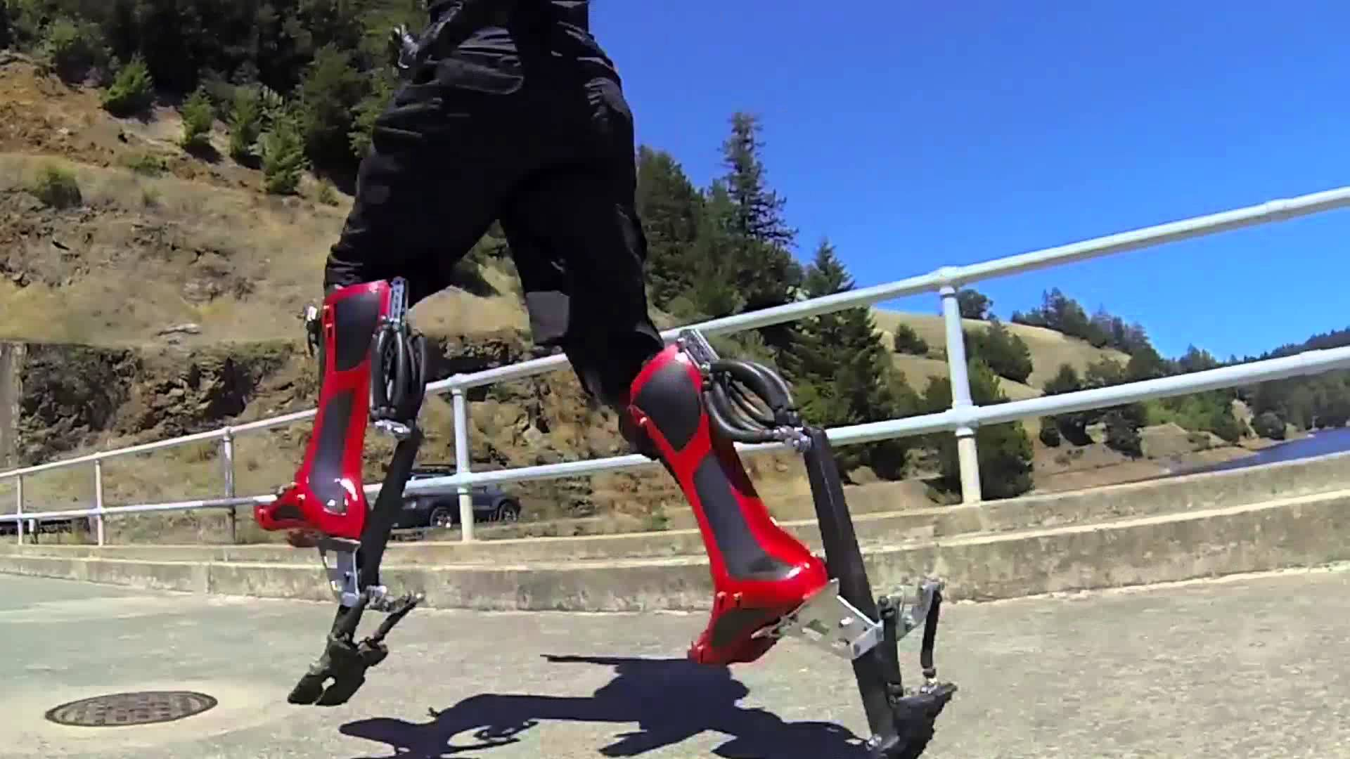 The Bionic Boot Can Help You Run Faster Than Scooters