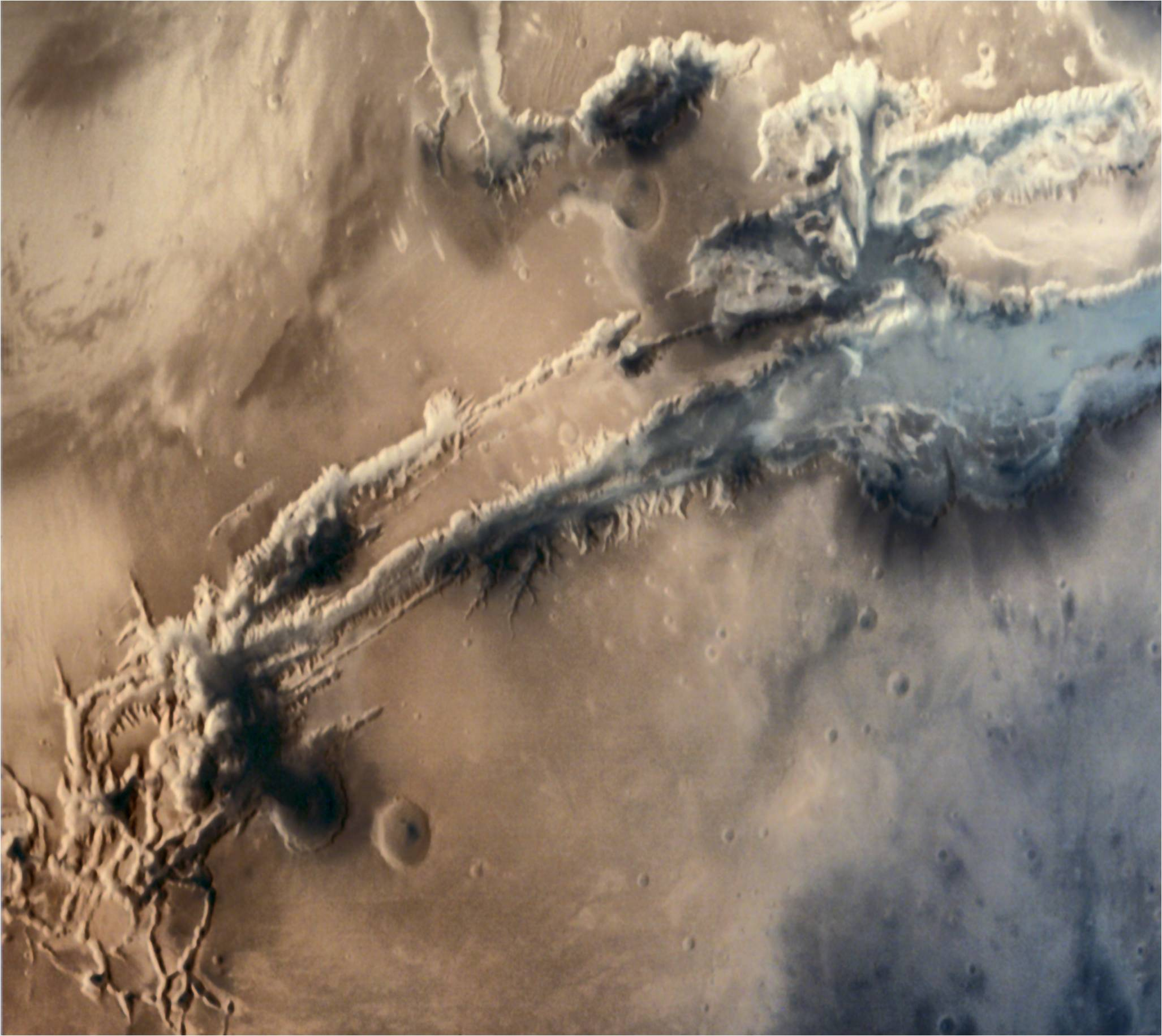 Did India capture volcanic activity or a nuclear explosion on Mars?