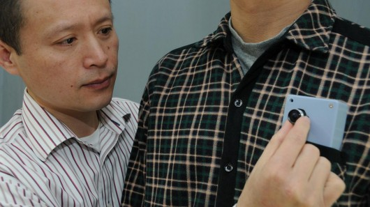 Wearable Collision Warning Device for the Visually-Impaired