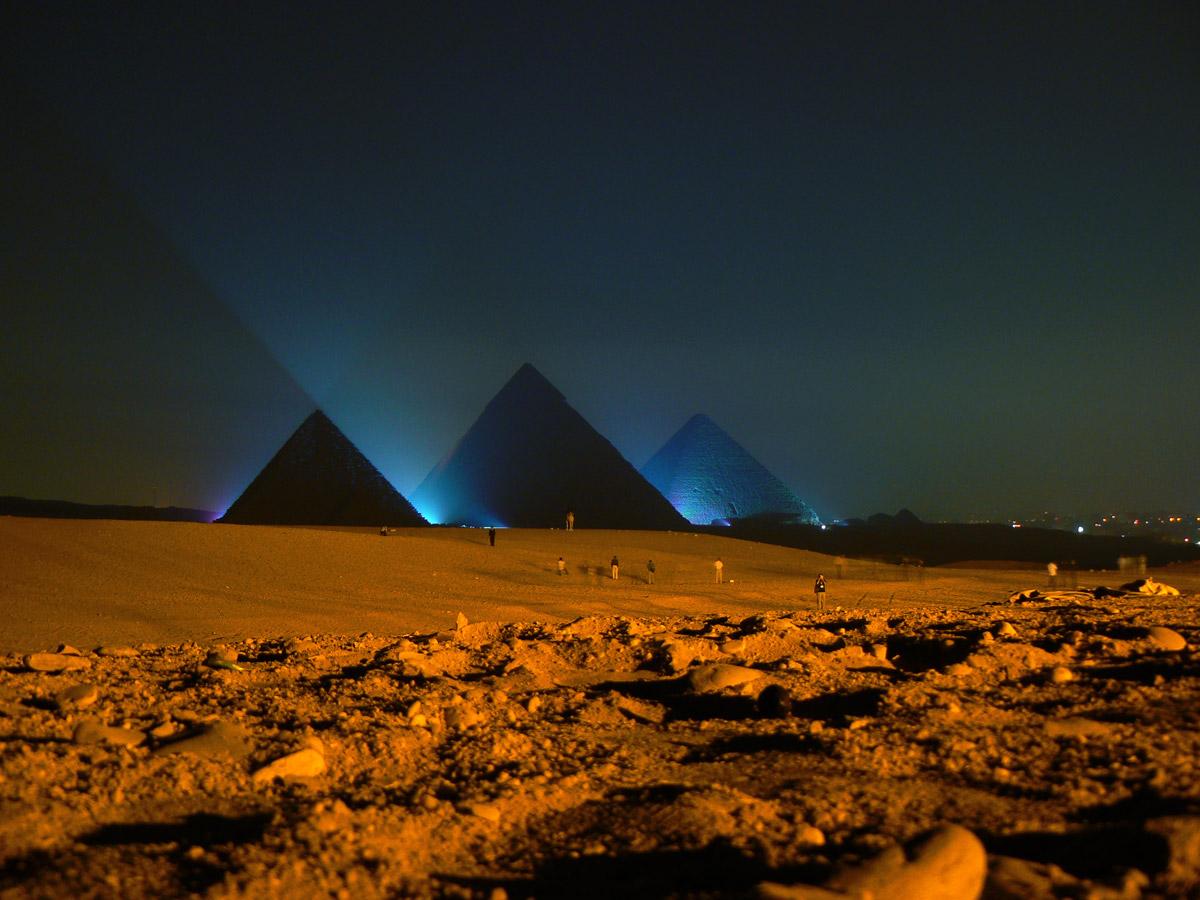 Groundbreaking New Physics Surrounding Pyramids