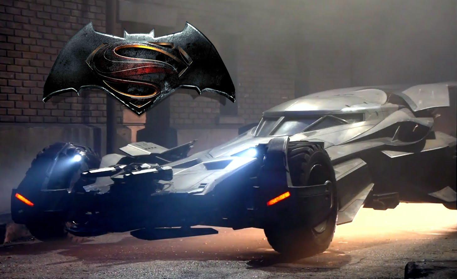A Closer Look at the New Batmobile in Batman v Superman