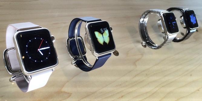 Wearable tech screens