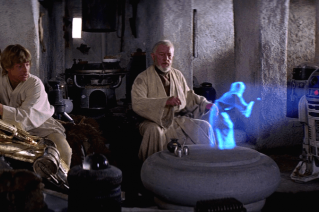 No More Science Fiction: 3D Holographic Images