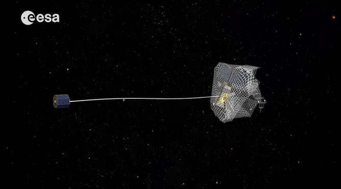 ESA's e.Deorbit project