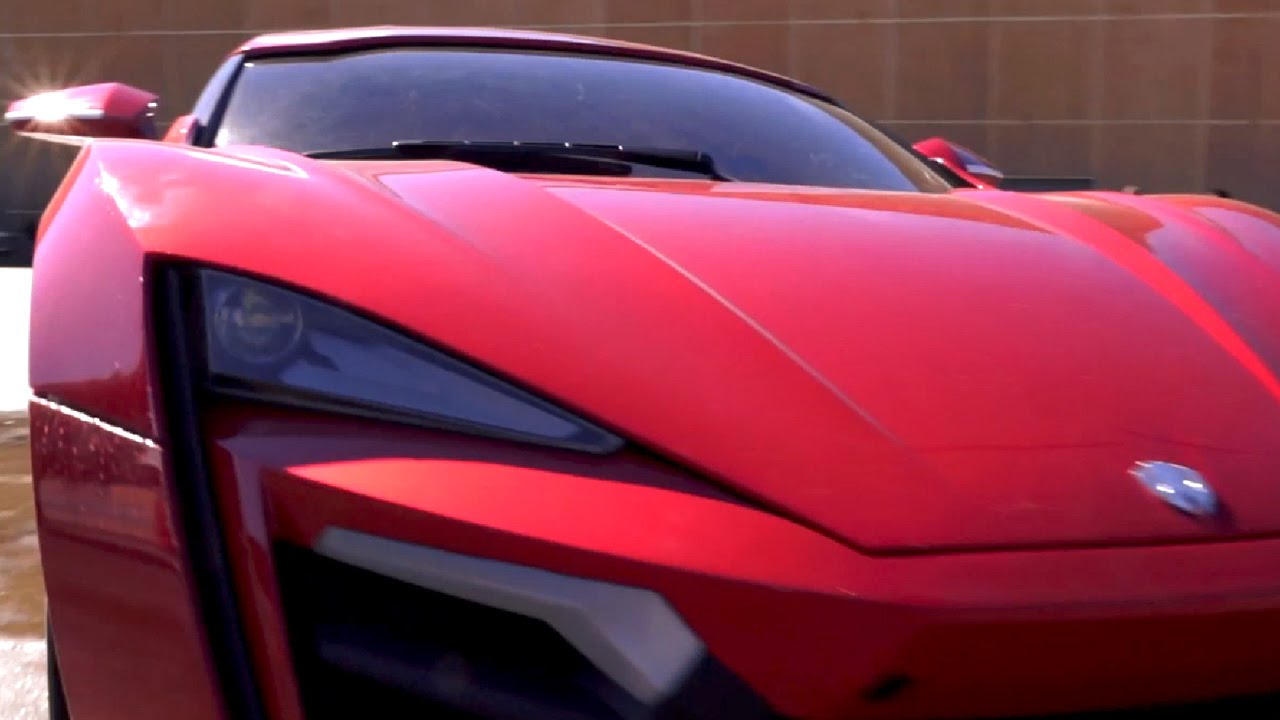 Lykan Hypersport is the Car Seen in Fast and Furious 7