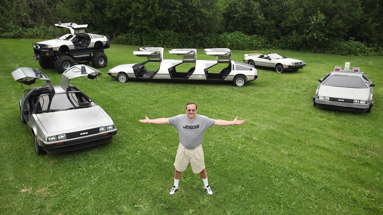 Man Transforms 'Back To The Future' Cars Into Bizarre Creations