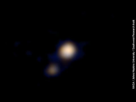 NASA Probe Captures First Color Images Of Pluto