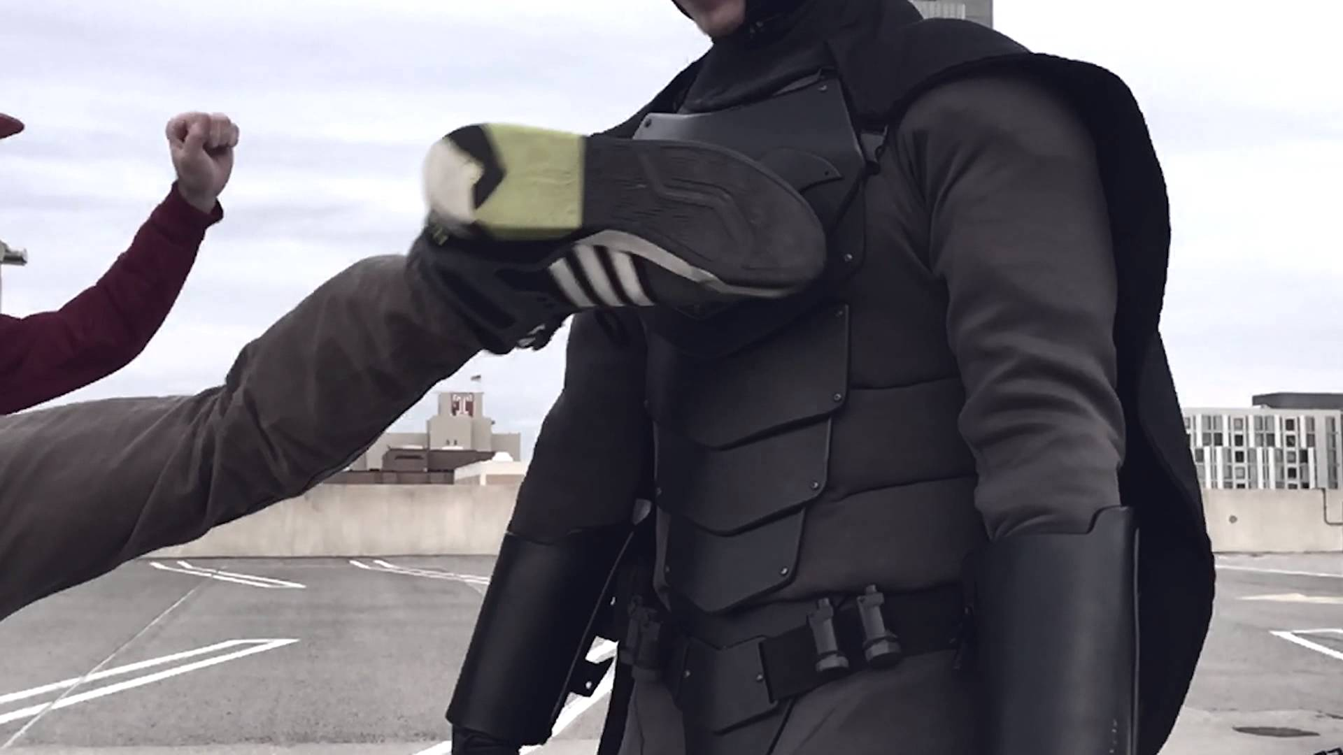 Real Life Batman Suit is Strong Enough to Stop Stabbings