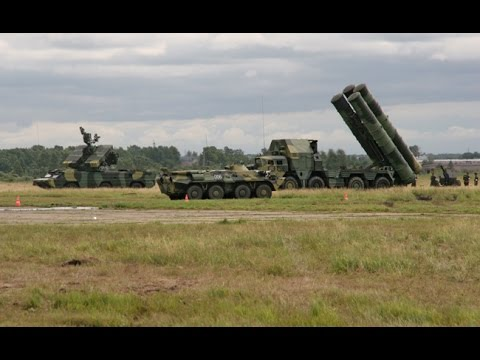 Russian military exercise goes wrong - S-300 rocket crashed