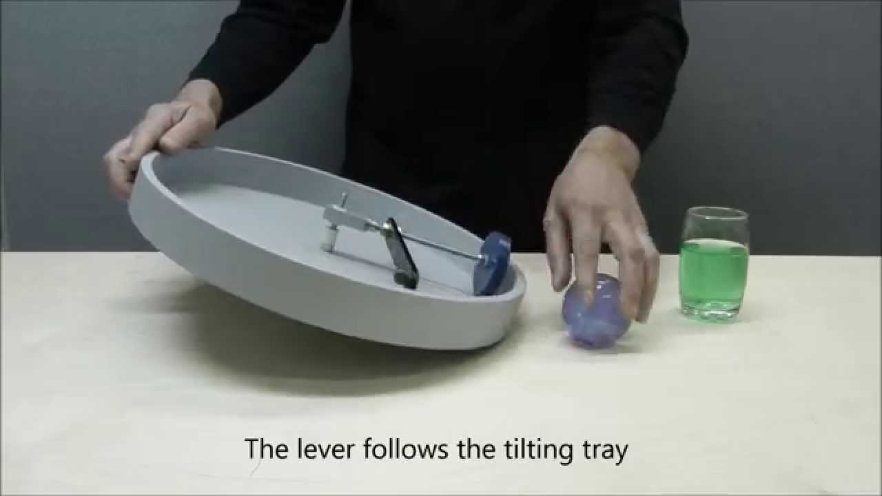 Self running Tilting Tray - Perpetual Motion
