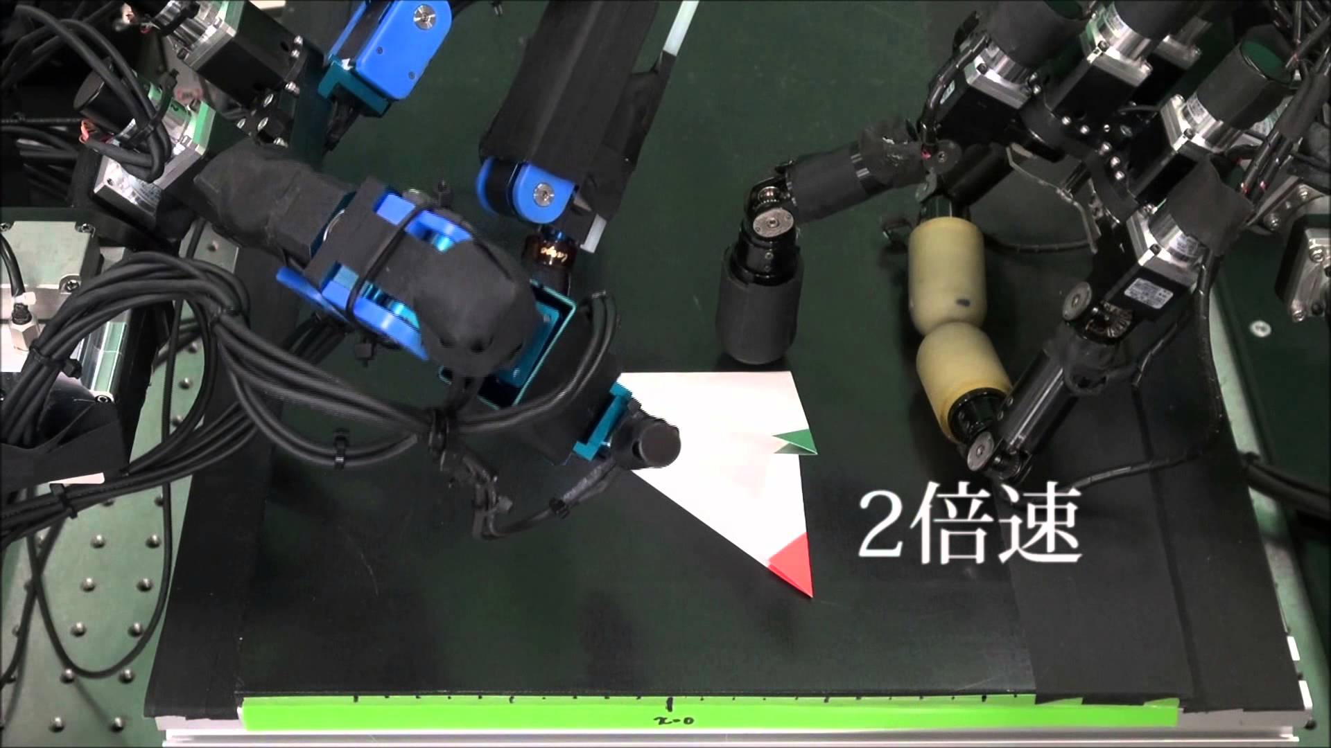 Watch How These Robots Do Some Paper Folding