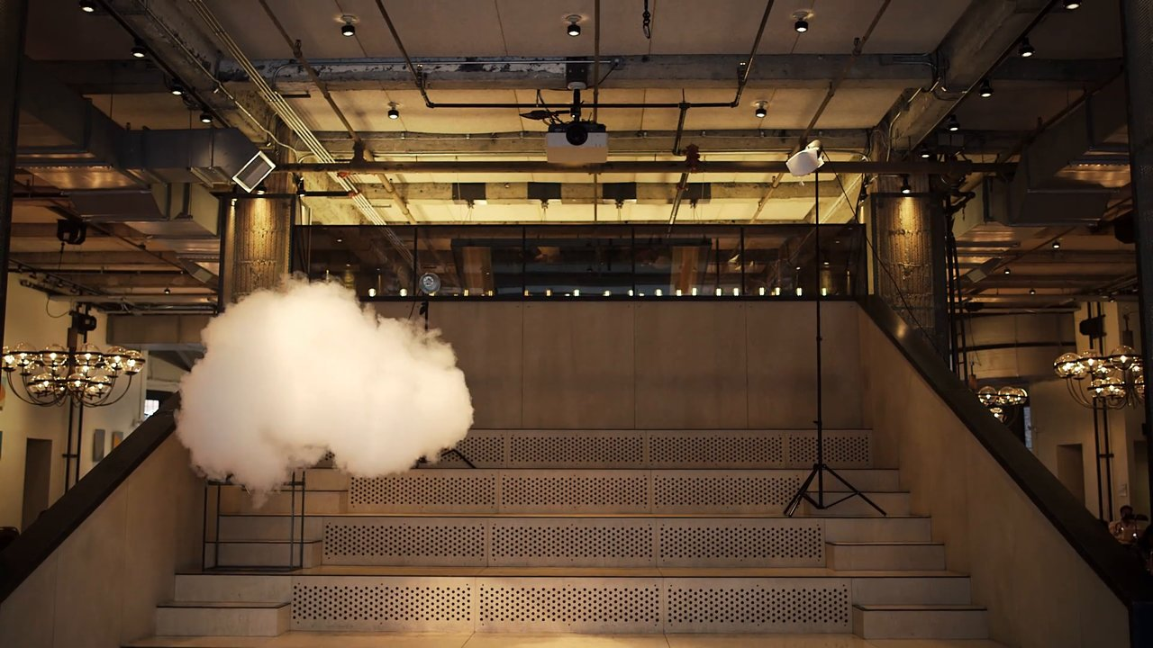Artist Used a Climate-Controlled Room to Make Indoor Clouds