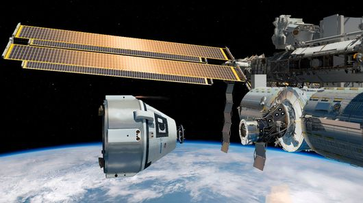 Boeing Awarded First Commercial Manned Space Mission Contract