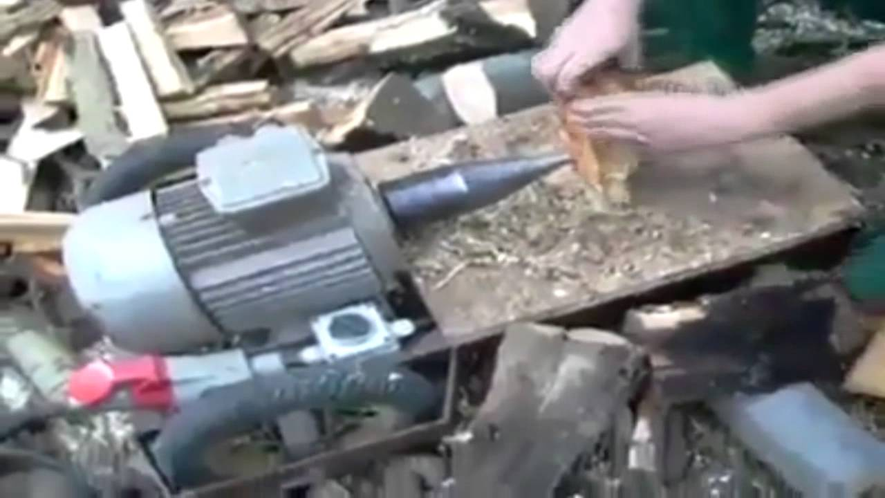 "Easiest and Fastest Way to ""Chop"" Some Wood"