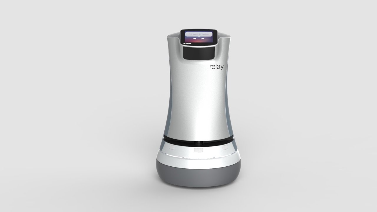 Meet the Robot Delivering Your Room Service