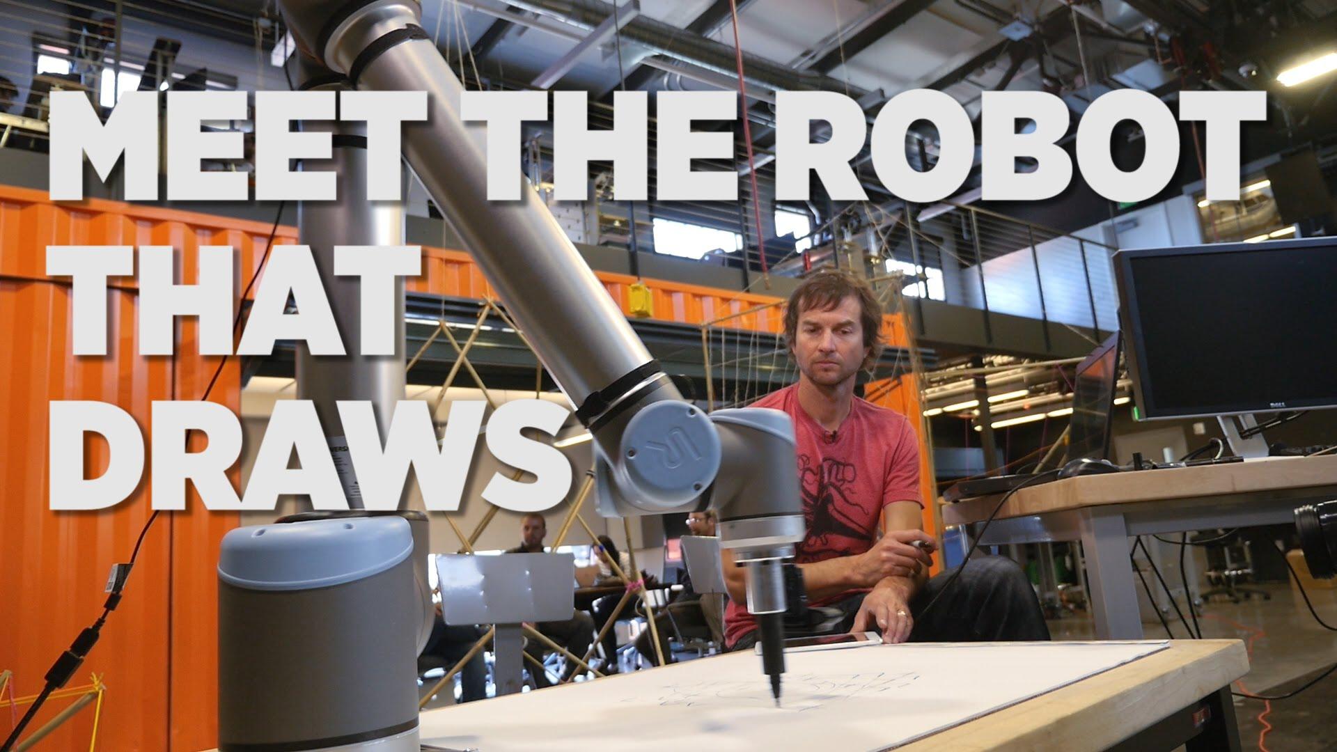 Meet The Robot That Draws