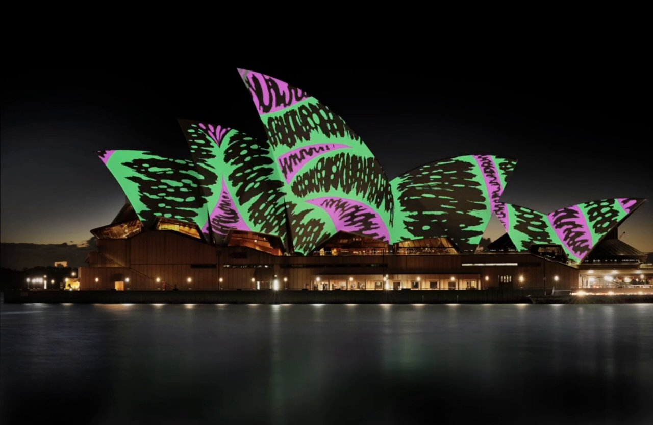 Sydney Opera House Comes Alive with Projection Mapping Animation
